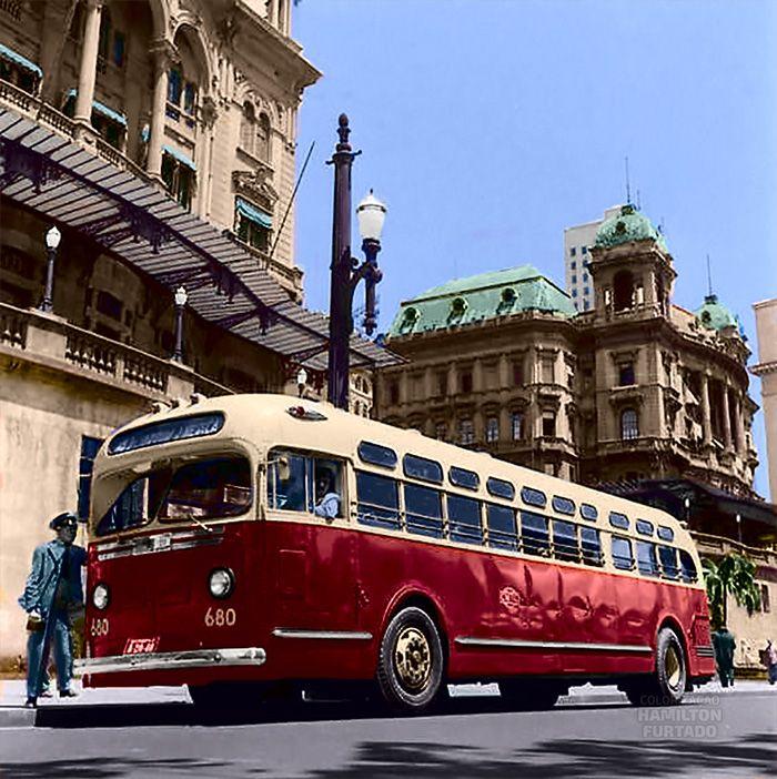 CMTC 1947, São Paulo Sistema de transporte, Transporte