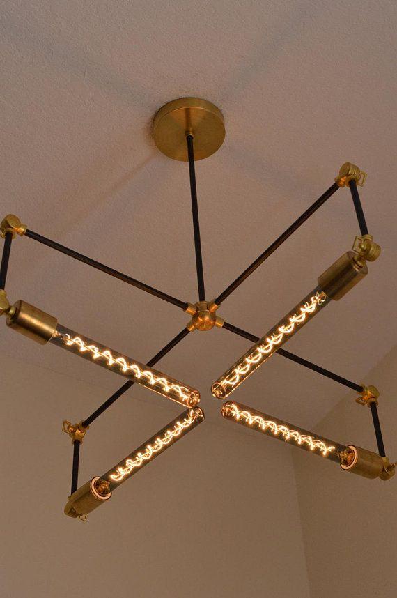 Handcrafted Modern Adjule Chandelier Handmade Lighting