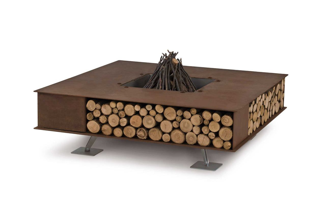 Modern Outdoor Fire Pits From Ak47 Design Arredamento Da