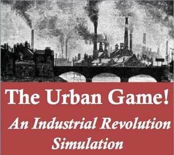 industrial revolution simulation and powerpoint the urban game activities reading worksheets. Black Bedroom Furniture Sets. Home Design Ideas