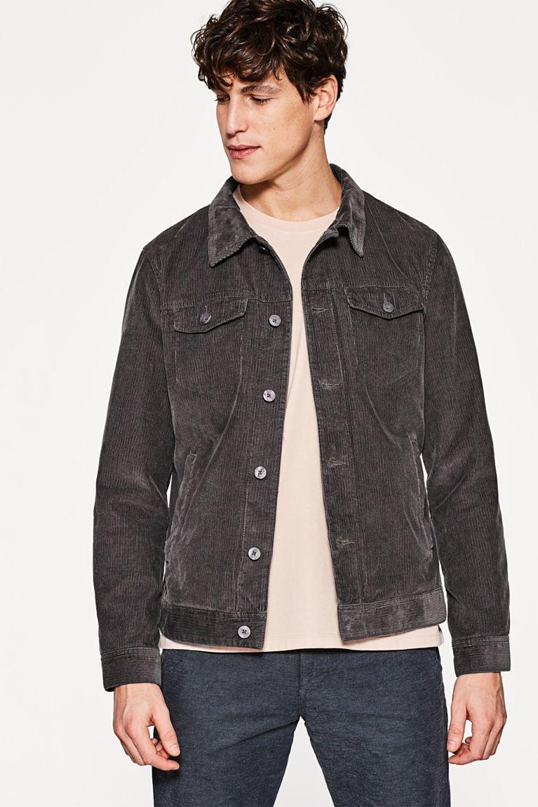 Esprit Urban Jacket In Pure Cotton Corduroy Urban Jacket Jackets Men Design [ 1150 x 767 Pixel ]