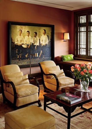 Traditional Living Room By Betty Garber Richard Farnell In Singapore