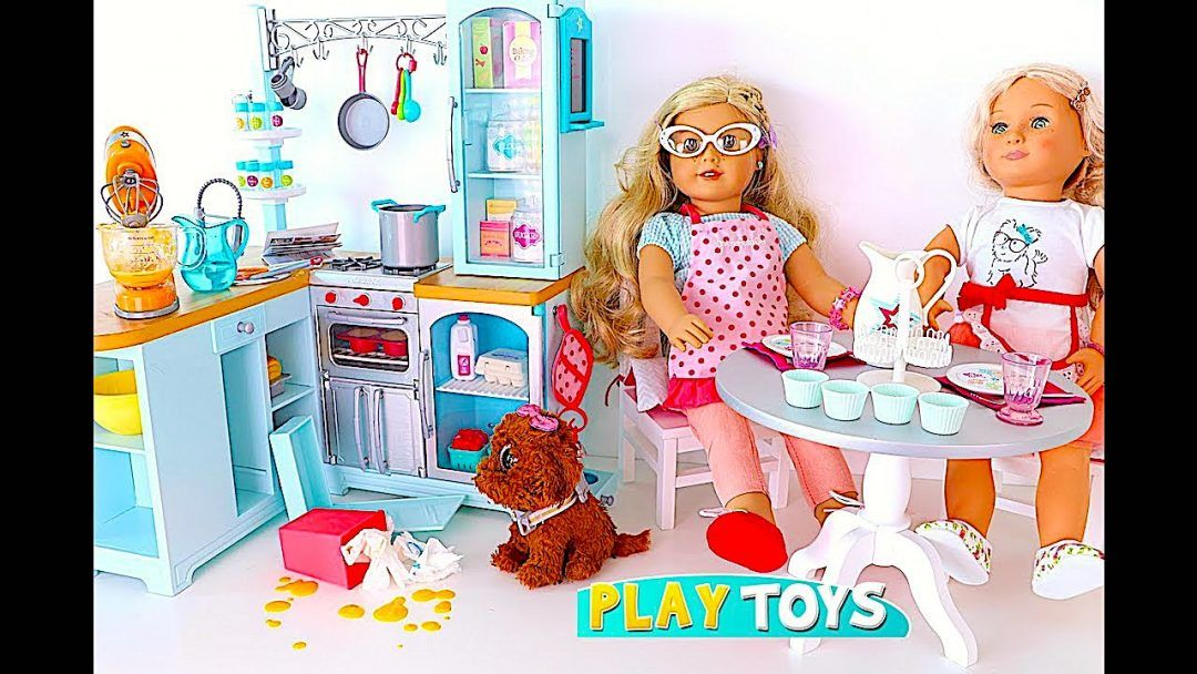 Best Pretend Kitchen Set: Pretend Play With American Girl Doll Kitchen Toys And