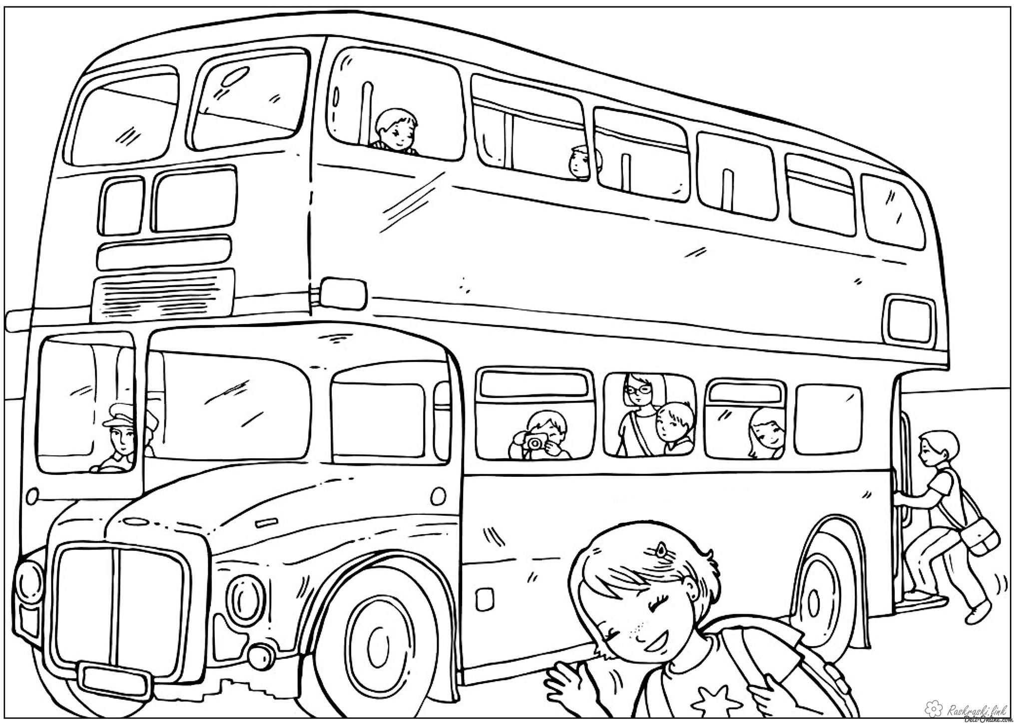 Coloring London coloring pages London Bus UK   Education   Pinterest