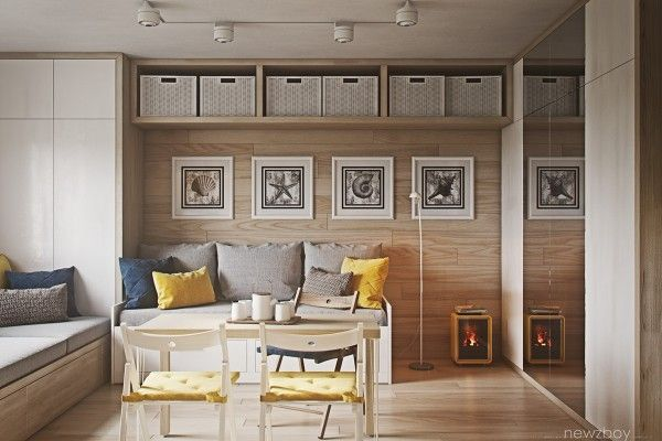Ultra Tiny Home Design 4 Interiors Under 40 Square Meters Tiny