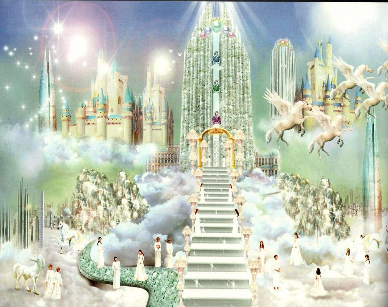 Кто населяет небесный город?