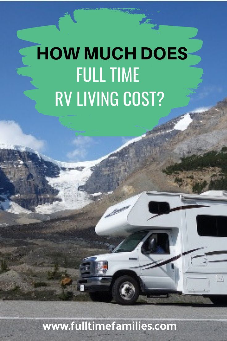 The Cost of RV Living #rvliving