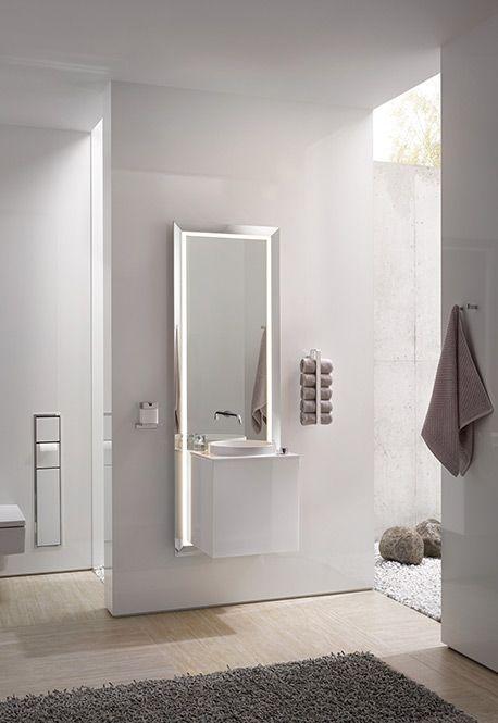 Badezimmer Idee emco touch neuheit ISH 2015 nexus product design - parkett für badezimmer