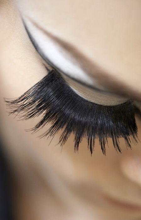 Dior Backstage Makeup Extreme Eyelashes Makeup Board