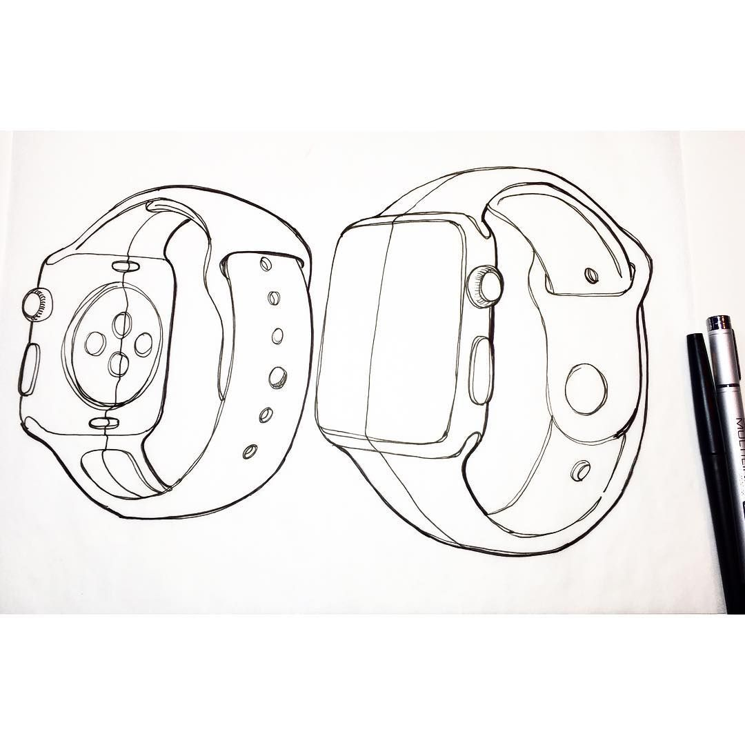 watch. #designsketching #idsketching #sketchilycarr #id #