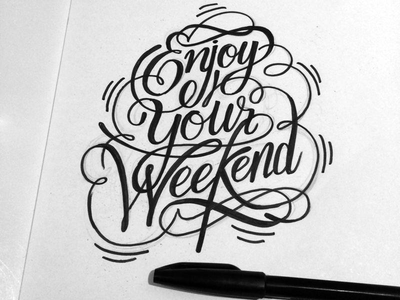 Project365 #27 Enjoy Your Weekend by bijdevleet