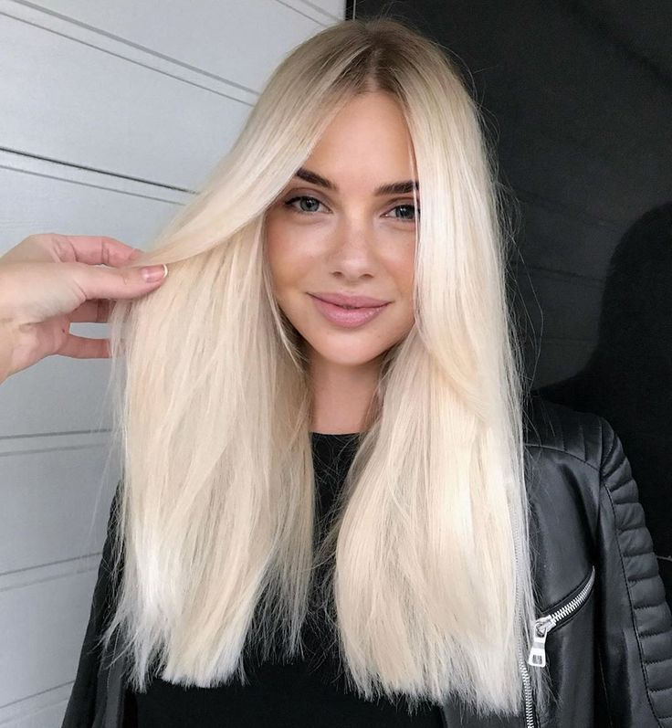 Long Blonde Hair #blondehair #hairinspo