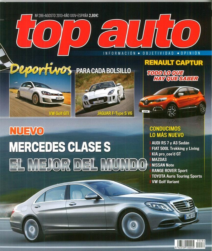 TOP AUTO Toyota auris, Audi rs, Mercedes clase s