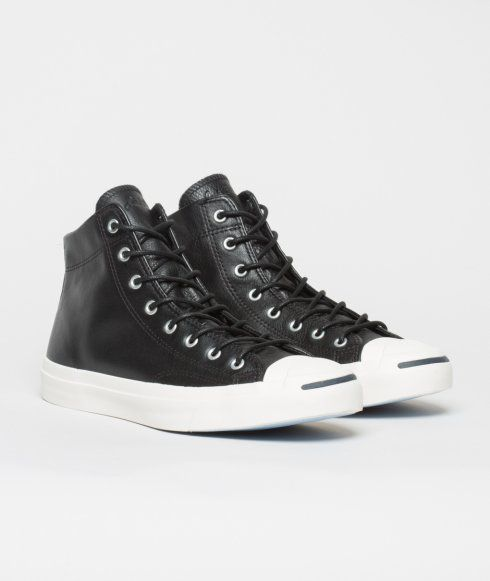 a671a60e4736 From time to time the Converse Jack Purcell Leather Mid sneaker comes out  of hiding.