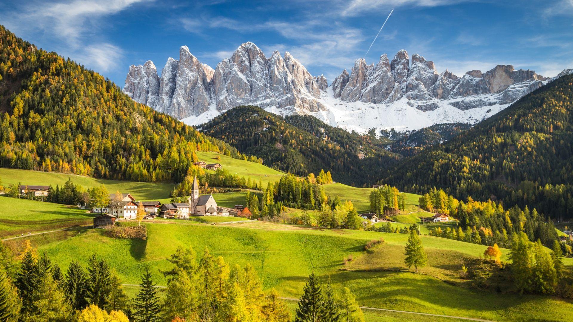 Обои Облака, hasliberg, швейцария, осень. Пейзажи foto 19