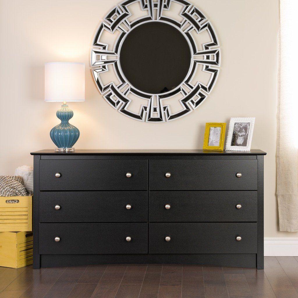 Sonoma 6 Drawer Dresser Multiple Options Available 6 Drawer Dresser Black Dressers Six Drawer Dresser [ 1024 x 1024 Pixel ]