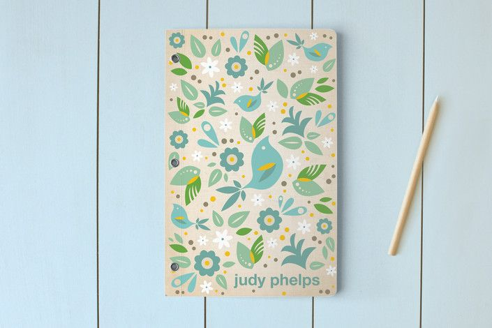 Blue Bird Day Planner, Notebook, or Address Book by Kristen Smith at minted.com