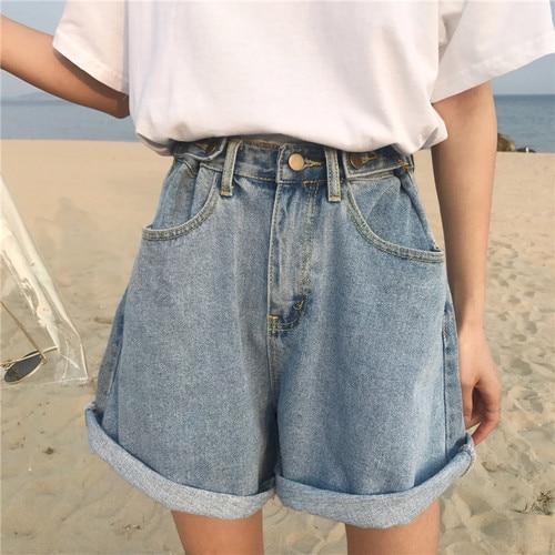 Vintage Denim Shorts Free Shipping Worldwide Great Design Good Vibes Ethical Sustainable Vintage Denim Shorts Hipster Outfits High Waisted Shorts Denim