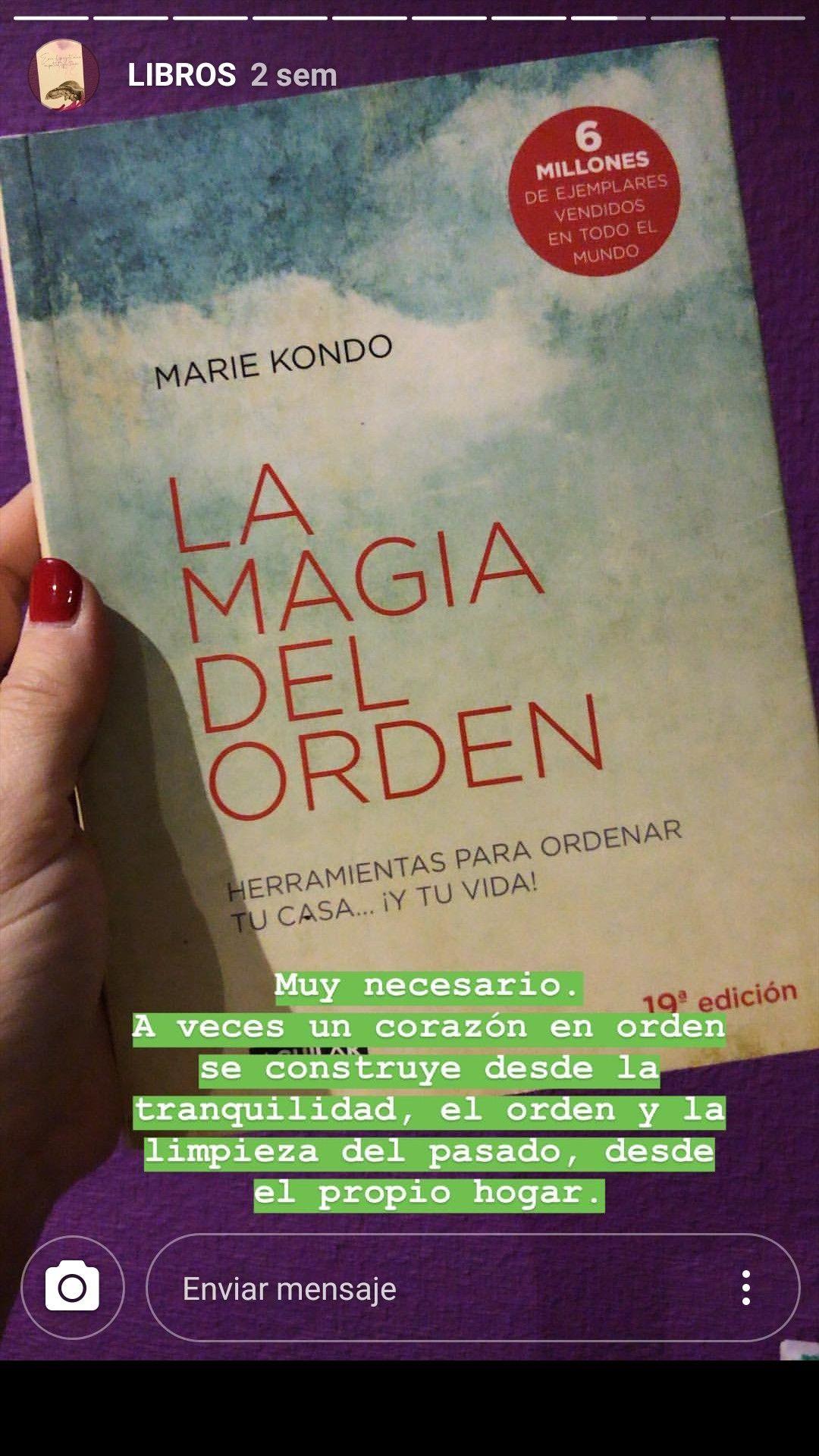 Pin De Rita Carvajal En Happy Libros La Magia Del Orden Mensajes