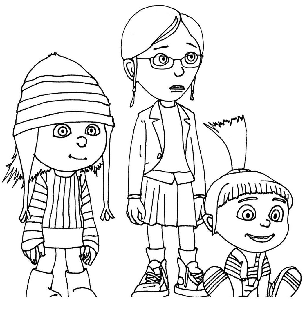 stunning minion coloring pages online pictures - printable ... - Despicable Coloring Pages Dave