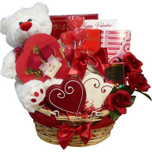 Art of appreciation gift baskets valentines treasures gift basket art of appreciation gift baskets valentines treasures gift basket with teddy bear review negle Image collections
