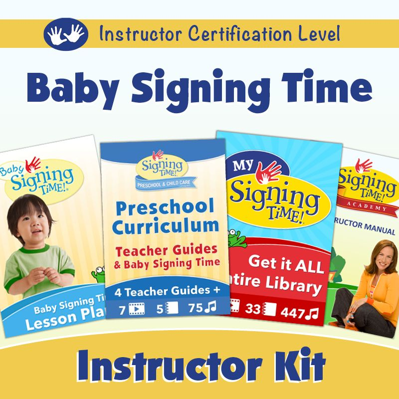 Become An Instructor Baby Signing Time Product Catalog Pinterest