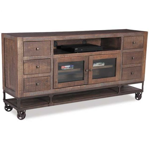 Urban Gold 76 Inch TV Stand