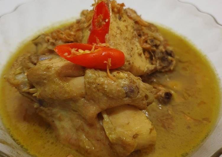 Bagaimana Cara Memasak Opor Ayam Simple Sederhana Recipe Cooking Recipes Indonesian Food