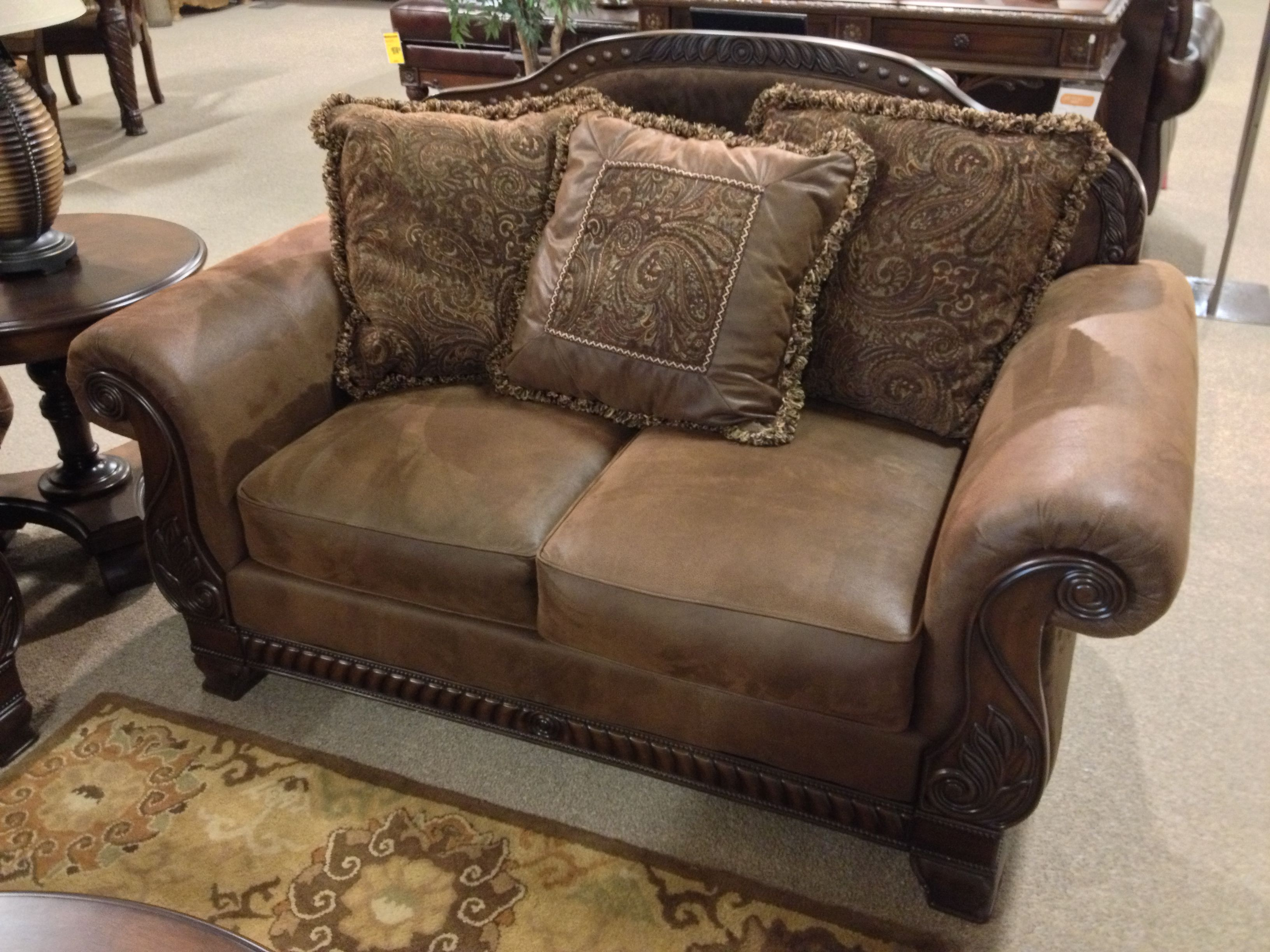 Truffle #LoveSeat At Ashley #Furniture In