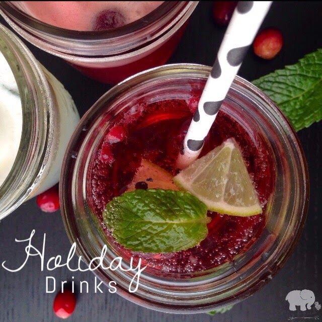 Non Alcoholic Holiday Drinks: {Non-Alcoholic} Holiday Drinks. Quick, Easy, And The