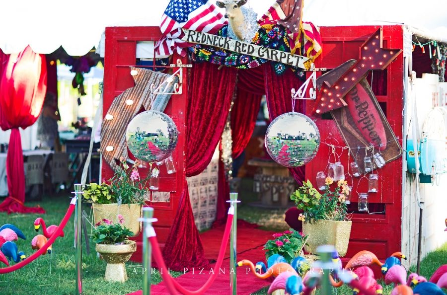 Redneck Red Carpet - Sweet 16 Party for Sadie Robertson (Duck - sweet 16 halloween party ideas