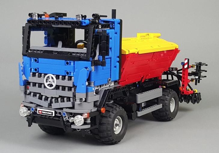 Lego Technic Mercedes Benz Arocs Creations Pinterest Lego