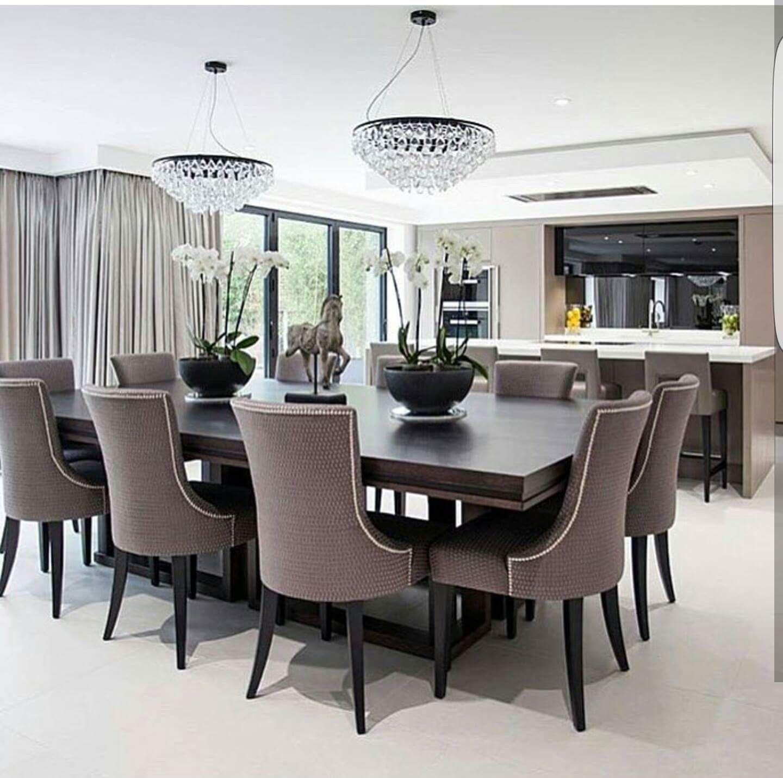 Pin de christopher harley en dining room comedores for Muebles de comedor elegantes