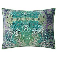 Image Of Tracy Porter Posey King Pillow Sham In Green Bedding Collections Velvet Pillows Textured Bedding