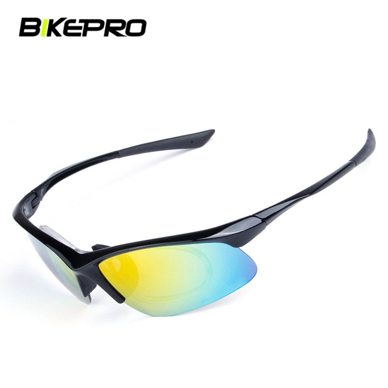 ded39506dfeb Find More Cycling Eyewear Information about Unisex 5 Lens Polarized Cycling  Glasses Windproof Sunglasses Outdoor Sports
