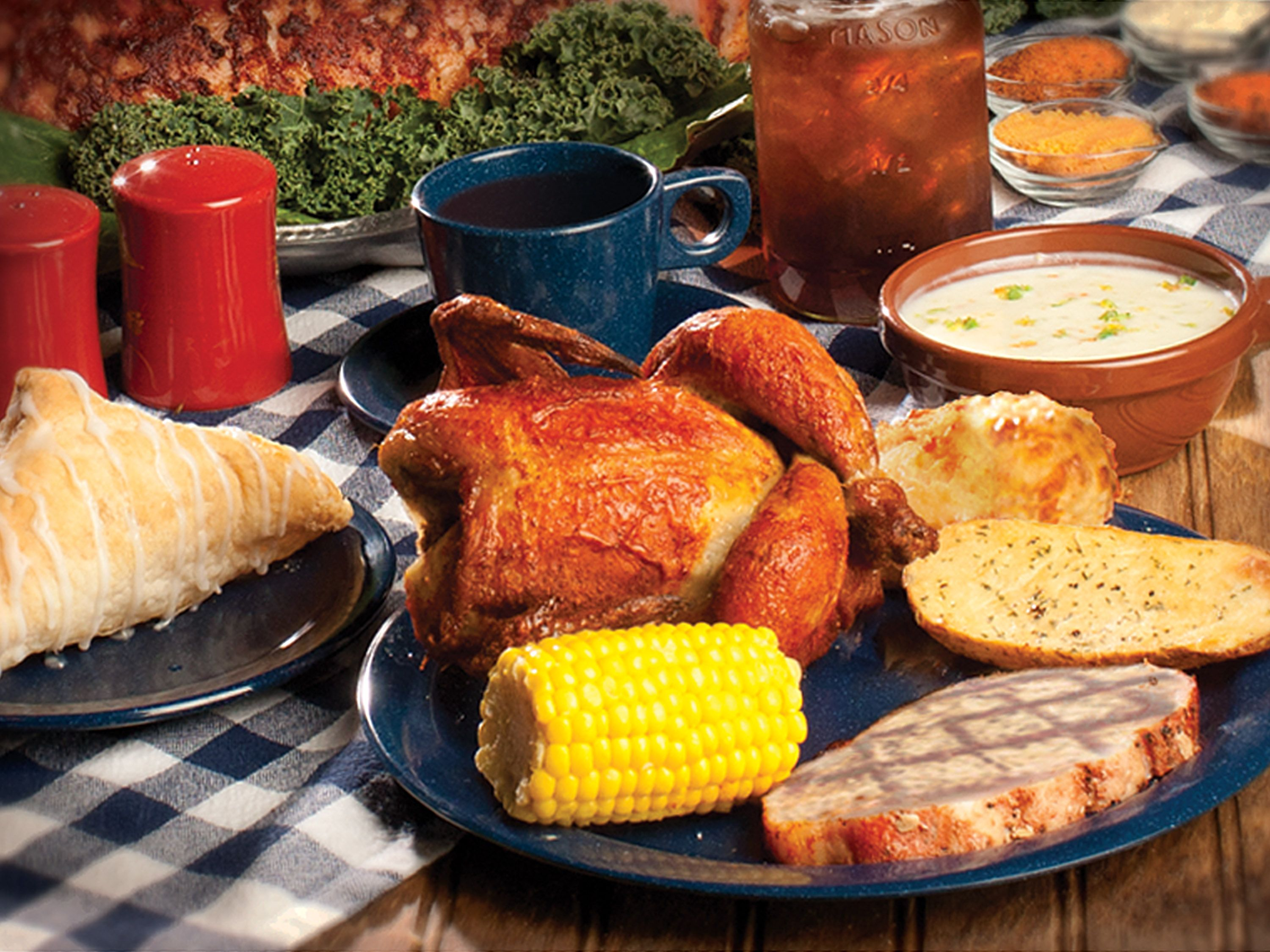 At Dixie Stampede You Ll Feast On Our Original Creamy