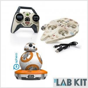 Enter To Win A Sphero BB-8 And Millennium Falcon Drone From The Lab Kit