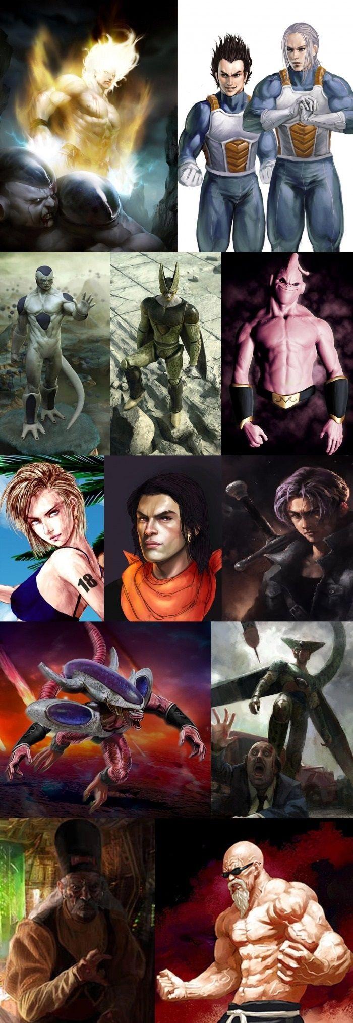 Dragon Ball Z Realistic Art Dragon ball art, Dragon