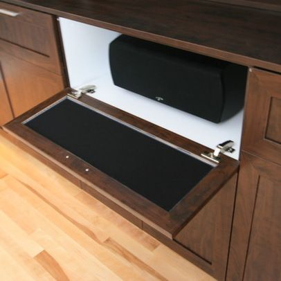 Hide Speakers Design Ideas Pictures Remodel And Decor Living Room Speakers Tv Stand