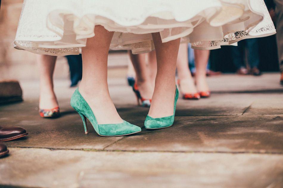 An Emerald Green 50 S Inspired Glasgow City Wedding Love My Dress Uk Wedding Blog Wedding Directory Beautiful Wedding Shoes Green Wedding Shoes Bridal Shoes