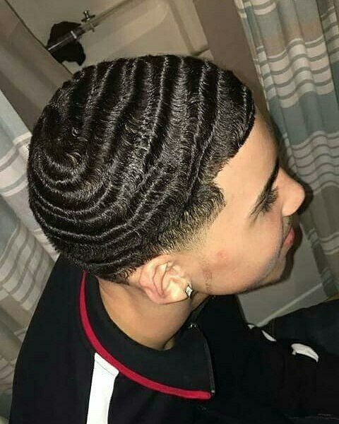 1 504 Likes 5 Comments Join The Wave Topwavers On Instagram Jointhewave Regranned From Official Brian11 Waves Hairstyle Men Waves Haircut Hair Waves