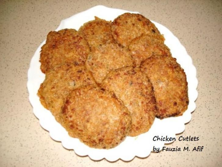 Minced chicken cutlet recipes