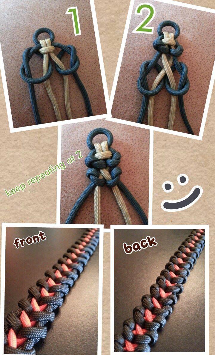 Paracordial #paracord #bracelet | craft: macrame | pinterest.