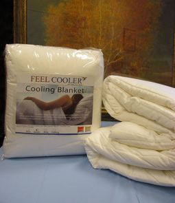 Feel Cooler Cooling Blanket For A Cooler Nights Sleep Cooling