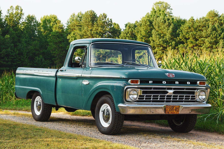 1966 Ford F 100 Custom Cab Pickup Trucks Classic Pickup Trucks Ford Pickup Trucks
