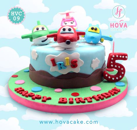 Birthday Cake Super Wings   Super Wings   Torten, Fondant torten y ...