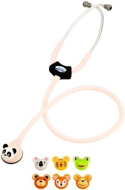 """Animal Scope Pediatric 22"""" Pink Panda Frog Koala Deer Monkey Tiger Nurse Doctor"""