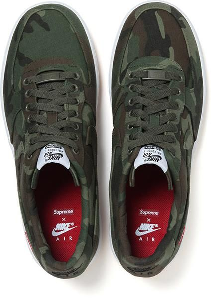 best service 4bd68 add6f SUPREME X NIKE AIR FORCE 1 ONE AF1 CAMO CAMOUFLAGE  Sneakers
