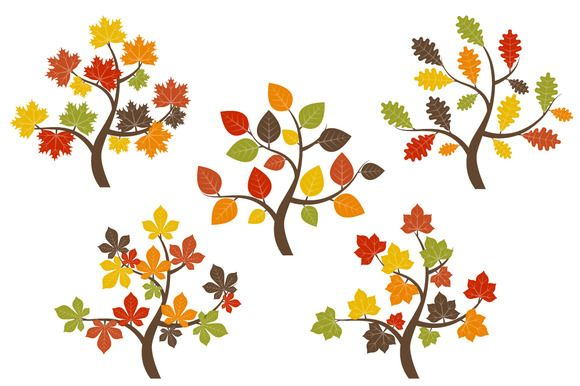 fall trees clip art branch art fall trees and clip art rh pinterest com