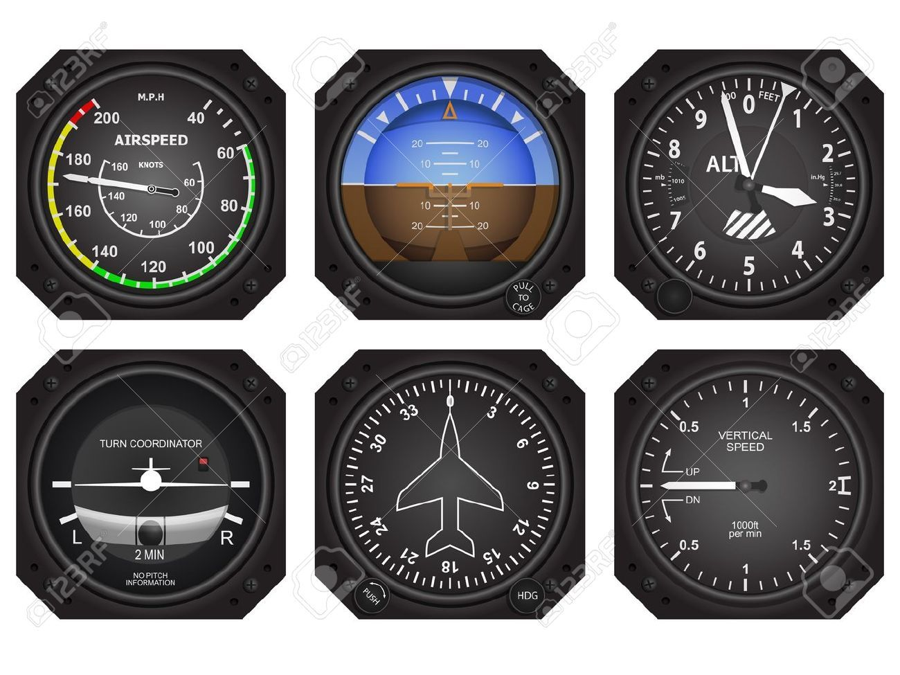 Aircraft Avionics Instruments     | Cuttlebug cards